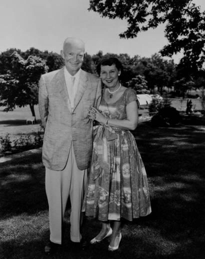 Dwight & Maimie Doud Eisenhower