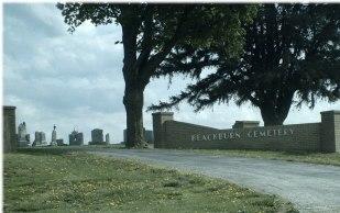 Blackburn Cemetery - entrance (photo credit: Steve Yaryan)
