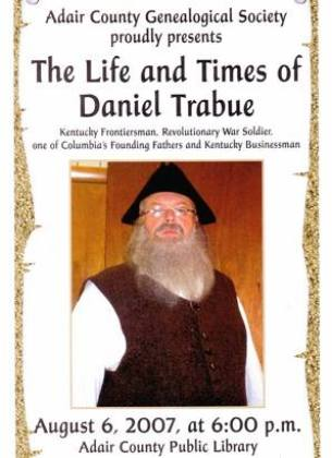 Life & Time of Daniel Trabue