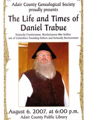 Life & Time of Daniel Trabue