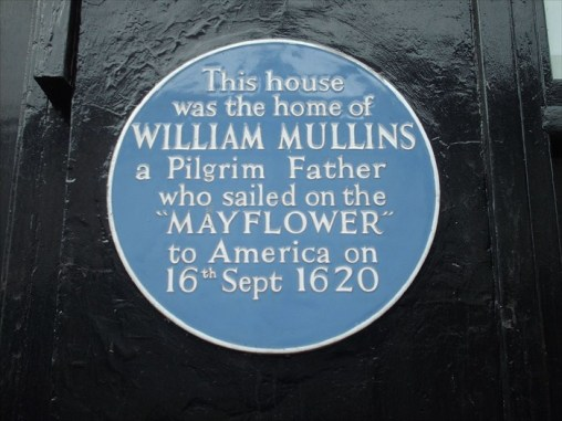 This plaque is on 58 West Street is the house in Dorking where William lived. The building now shows its age, but it is in keeping with other building along this part of West Street.