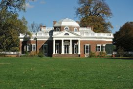 Monticello, the West Lawn