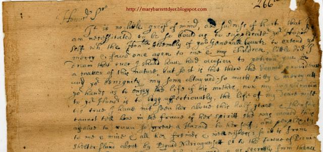 Wm Dyers 2nd letter dtd 16600527