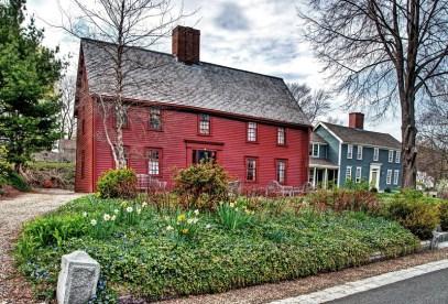 """The """"Preston-Foster House"""", 6 Water Street, Ipswich, Massachusetts"""