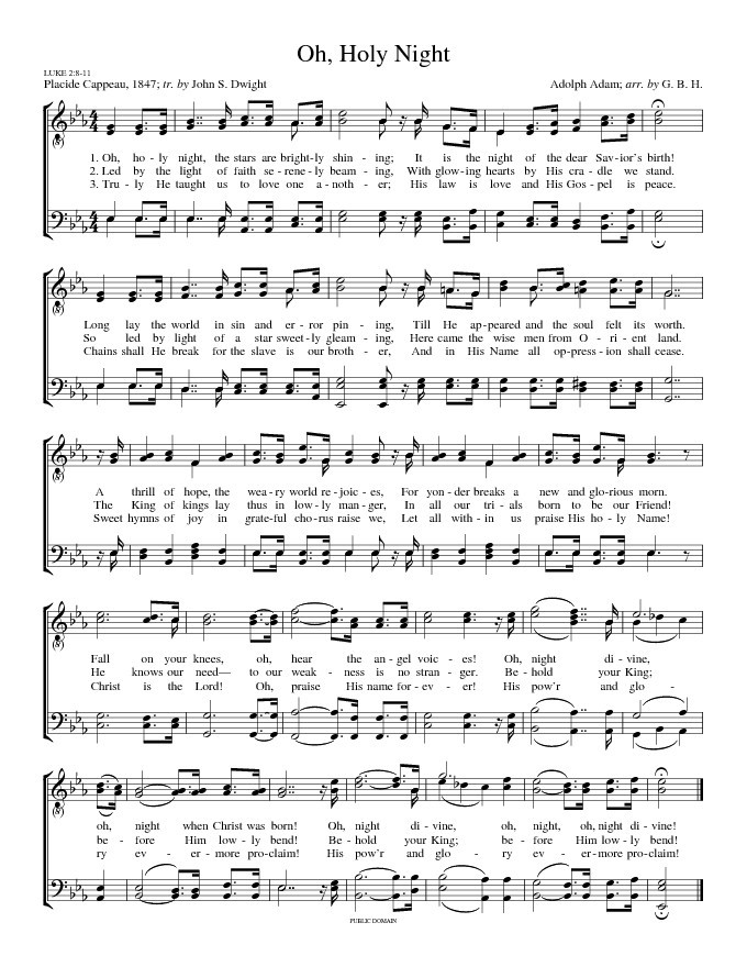List Of Synonyms And Antonyms Of The Word Oh Holy Night Chords