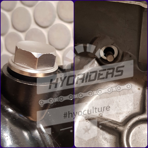 Magnetic Oil Filler Cap Plug Bolt :: GV GT 125 250 R Hyosung