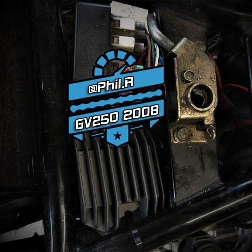*Upgrade* Regulator Rectifier Hyosung GT125R GV125C GT250R GV250