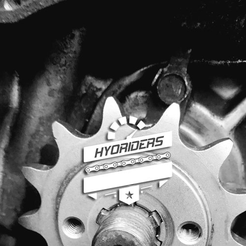 Chain & Sprocket Kit :: GT GTR 125 250 RC Hyosung