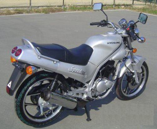 Hyosung GF125 Specifications & Picture Gallery + Wiki + Manuals