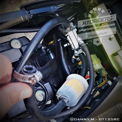 Fuel Line & Big Filter Kit - Hyosung GT125R GT250R GT125