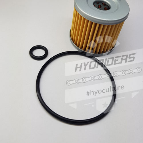 Oil Filter Service Kit & O-Rings – Hyosung GV GT 125 250 R Comet Aquila