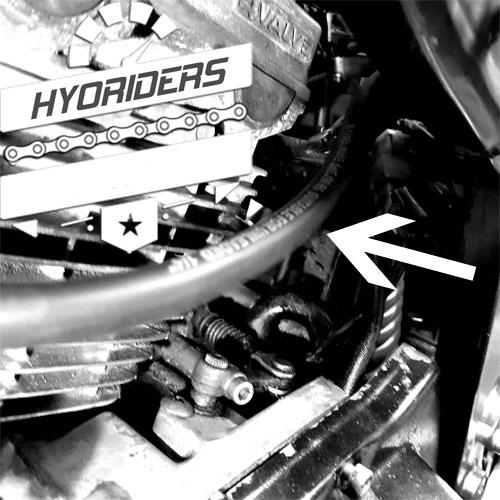Vacuum Intake Line Hose Kit :: Hyosung GT125
