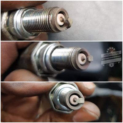 ngk laser iridium plugs hyosung cr8e ix