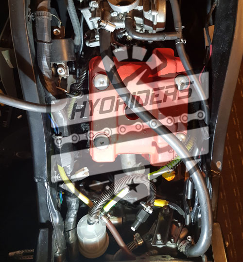 Hyosung Gt125r fuel lines diagram filter hose