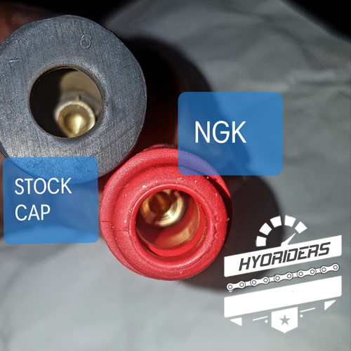 NGK Peformance Racing HT Coil Spark Plug Cap Cover Hyosung GT125R GT250R GT650R GT125 GV650 ST7