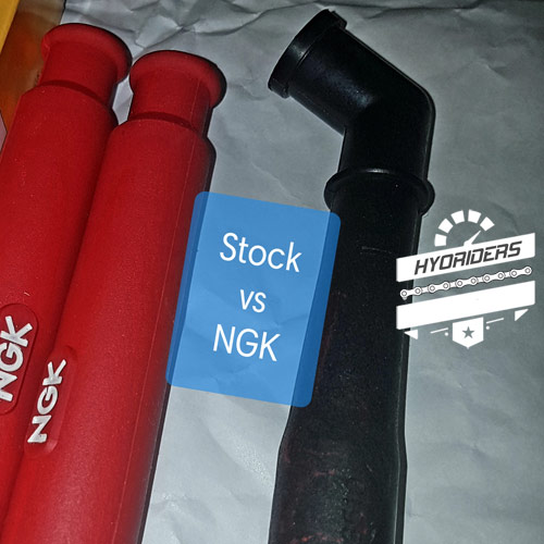 NGK Peformance Racing HT Coil Spark Plug Cap Cover Hyosung GT125R GT250R GT650R GT125 GV650 ST7