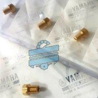 Carburettor Needle Acorn Nut (Carb Hollow Brass Screw) :: Hyosung GT125R GV250 GT250R GV125
