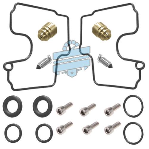 Carb Rebuild Kit (Carburetor Repair Parts) - Hyosung GT650R GV650