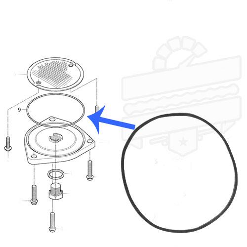 Oil Strainer Cap O-Ring (Drain Cover) :: Hyosung GV650 GT550 R ST7