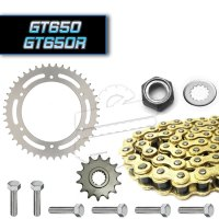 Premium X-Ring 525 Chain & Sprocket Set :: Hyosung GT650 GT650R