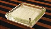 オリジナルリサイクルガラス表札G13 クリアソリッド