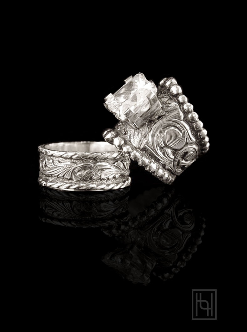 Harmony Forever Ring Set Custom Rings By Hyo Silver