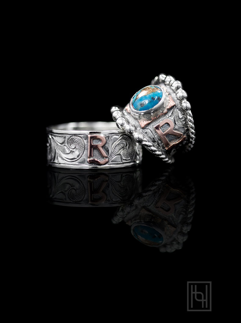 Country Love Forever Ring Set Custom Rings By Hyo Silver