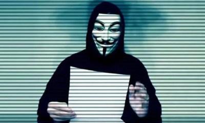 """Ünlü Hacker Grubu ANONYMOUS'dan Yeni Video: """"Bunu Duymalısın, Ne Saklıyorlar"""""""