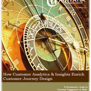 Customer Analytics and Insights Enrich Customer Journey Design