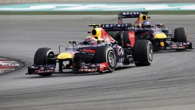 F1 Grand Prix of Malaysia Red Bull