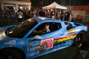 deadmau5 Nyan Cat Car Purrari (3)