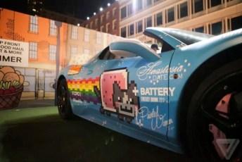 deadmau5 Nyan Cat Car Purrari (4)