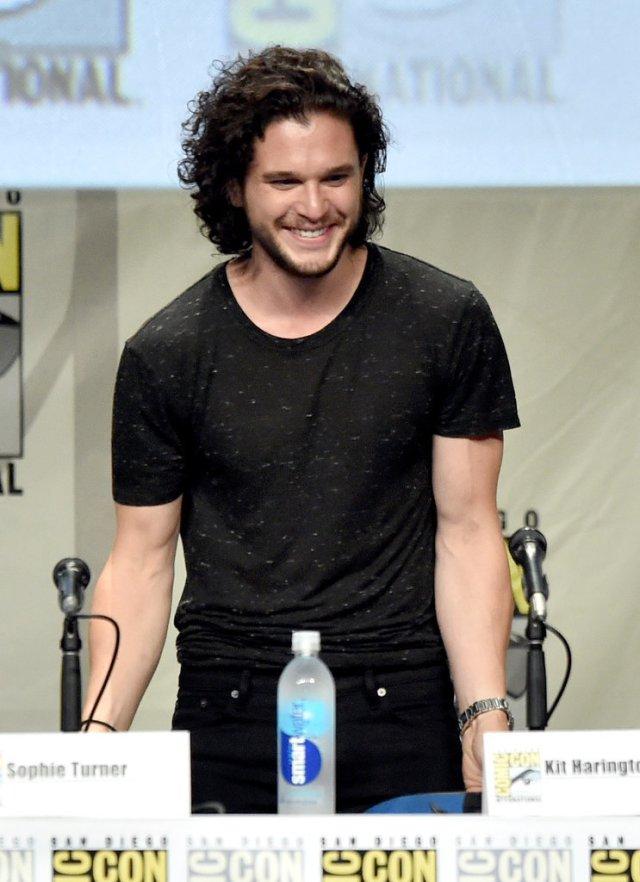 Game of Thrones Panel SDCC Jon Snow