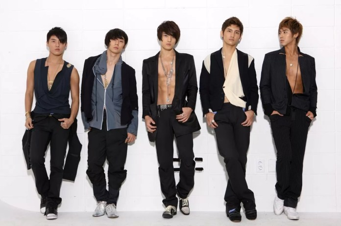 Blast from the past: TVXQ! way back when (Source: SM Entertainment)