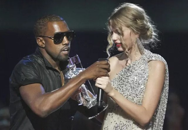 Kanye West Taylor Swift VMA Diss