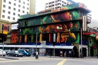 Kenji Chai Nando's Graffiti Kuala Lumpur