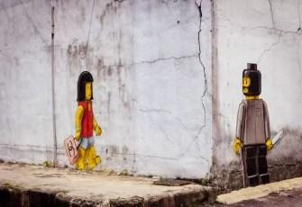 LEGO Street Art Johor Bahru Malaysia 2