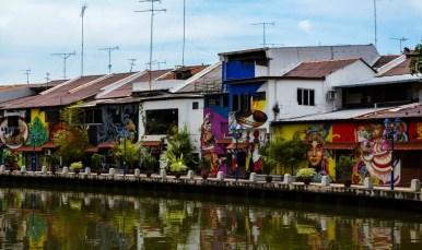 Malacca River Street Art