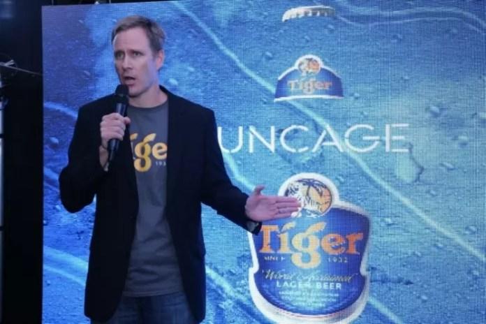 Mr. Bruce Dallas, Marketing Director of Guinness Anchor Berhad