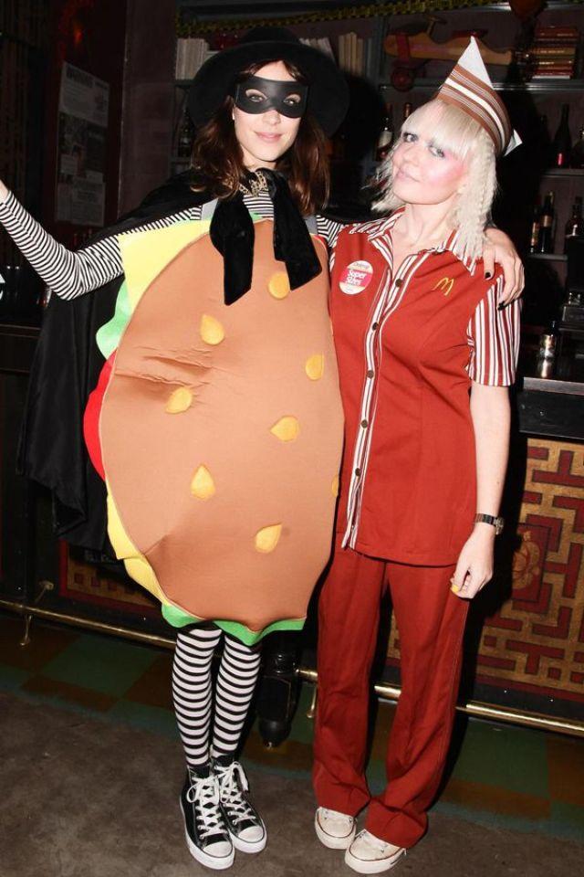 Alexa Chung Hamburglar Halloween 2013
