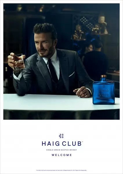 David Beckham introducing Haig Club™.