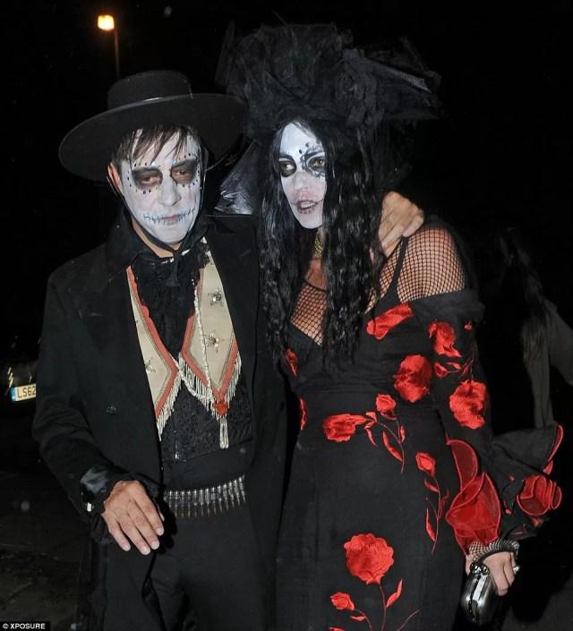 Jamie Hince and Kate Moss Halloween 2013