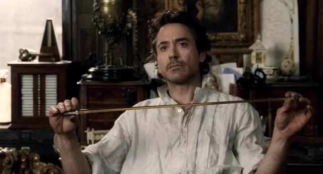 Robert Downey Junior as Sherlock Holmes