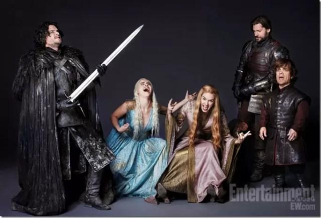 Game of Thrones Cast Goofy