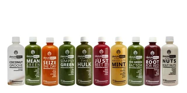 Lifestyle Juicery Cold-Pressed Juice Malaysia