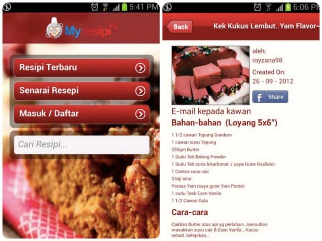 My Resipi App