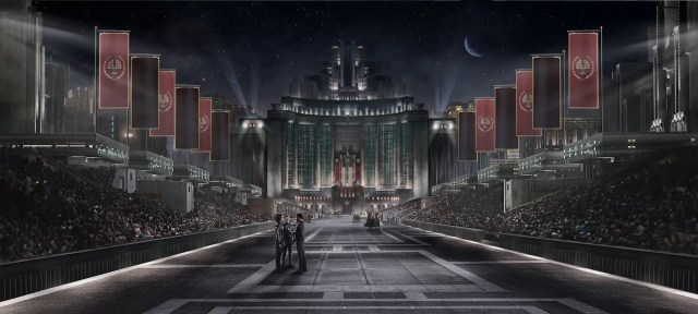 The Hunger Games Panem City