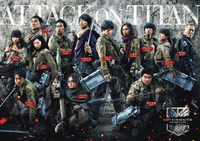 Attack On Titan Movie Cast