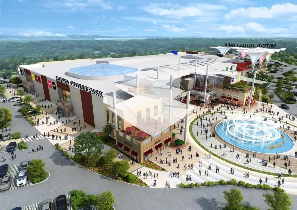 brand new 5e407 473e6 MitsuiOutletPark: Largest Outlet Mall In Southeast Asia To ...