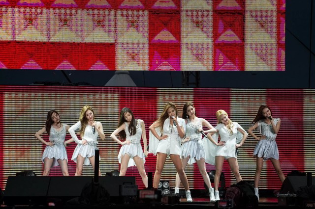 SNSD Girls' Generation Sepang F1